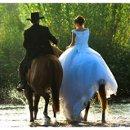 130x130 sq 1203034457736 horsebackbrideandgroom
