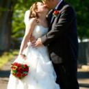 130x130 sq 1421445792411 photo   jazz unlimited band   bride  groom kissing