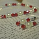 Romantic Red Set. Great for the Bride with a little pizzaz!