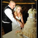 130x130 sq 1326227010458 whiteandivoryweddingfondantcake