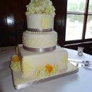 130x130 sq 1326227011833 yellowandgrayfondantweddingcake
