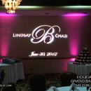 130x130 sq 1344180044110 holidayinnsalisburyncweddingvenueuplightingmonogramdjvirtualsounds