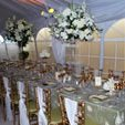 130x130 sq 1282837446169 banquettabledecor