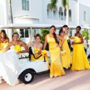 130x130 sq 1342558242140 juliadansweddingbridesmaidsongolfcart
