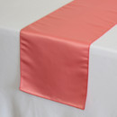 130x130 sq 1405019014293 coral satin lamour table runner