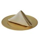 130x130 sq 1405107374641 20 inch champagne lamour satin napkins for wedding