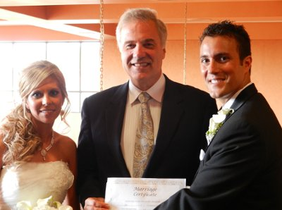 Greg Gordon - wedding officiant