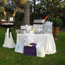220x220 sq 1507275878472 the gift table and guest book marino and grist