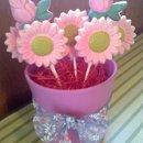 130x130 sq 1326845731190 pinkdaisyflowerpot