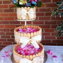 130x130 sq 1326848333245 springweddingcheesecake1large