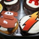 130x130 sq 1409578283231 cars themed birthday cupcakes