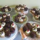 130x130 sq 1409578305565 cupcake displays for wedding...great centerpiece