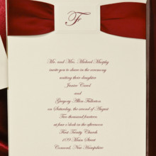 220x220 sq 1385068854328 red satin wedding invitatio
