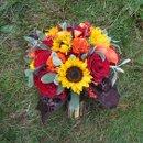 130x130 sq 1334869219089 sunflowerrosesmix