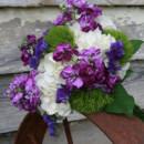 130x130 sq 1426286902379 white green purple bouquet