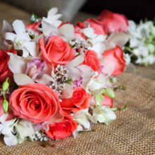 220x220 sq 1466641565970 bridal bouquet