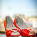 130x130 sq 1392331831574 orange wedding shoe