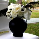 130x130 sq 1277946117191 eswbridalshow2009chairflowers