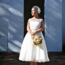 130x130 sq 1420146769038 retro tea length wedding dress ieiedress kathy 1