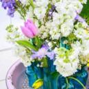 130x130 sq 1424812741581 florals by rhonda llc blue vintage bottles with fl