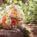 130x130 sq 1424812920380 florals by rhonda llc peach rose vintage bridal bo