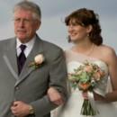 130x130 sq 1424813278507 silver  peach bridal bouquet florals by rhonda llc