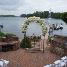 220x220 sq 1434068326448 ceremony at the lake