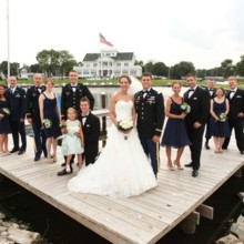 220x220 sq 1474584380216 awesome wedding pic military 1024x683