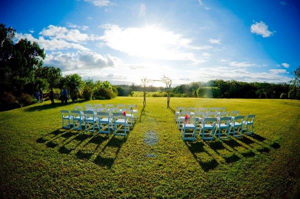 Sunset Ranch Hawaii Haleiwa Hi Wedding Venue