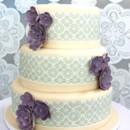 130x130 sq 1372195485749 purple wedding cake