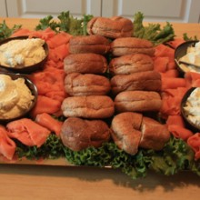 220x220 sq 1416502908807 bagels and lox