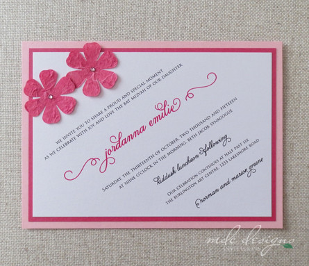 600x600 1384961065404 pink fuchsia diagonal flower bat mitzvah invitatio