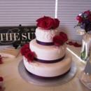 130x130 sq 1382348523450 mooshus simple scroll wedding cake