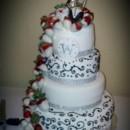 130x130 sq 1388969067846 mooshus wedding cake black and white chocolate cov