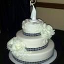 130x130 sq 1427309781123 mooshus black and white rose scroll wedding cake