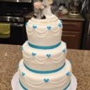 130x130 sq 1427310544386 mooshus prescious moments mickey wedding cake