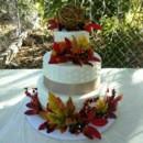 130x130 sq 1452640260134 mooshus fall smooth frosting wedding cake
