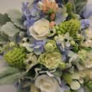 130x130 sq 1405282738880 bridal bouquet white pale blue green botanica flor