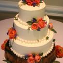 130x130 sq 1405282757486 wedding cake blue coral white rose bakery botanica