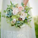 130x130 sq 1405283473797 bridalbouquet creamblushpalebluesucculentsbotanica