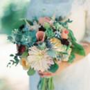 130x130 sq 1405283586382 bridalbouquetblushsagebluepinksucculentsworldfores
