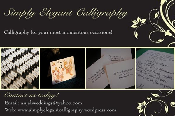 photo 1 of Simply Elegant Calligraphy