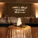 130x130 sq 1457874437650 head table with gobo