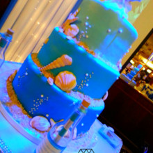 220x220 sq 1426202533188 james goodridgeweddingcake