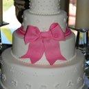 130x130 sq 1281052063751 pinkbowcake01
