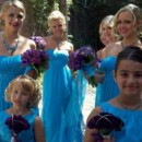 130x130 sq 1444342573536 purple and teal bridesmaids