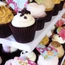 130x130 sq 1416416885775 romantic hearts wedding cupcakes