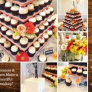 130x130 sq 1449161218317 cupcakes flowers wedding collage
