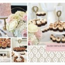 130x130 sq 1449161308015 blush vintage wedding display collage