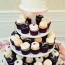 130x130 sq 1468596277772 petal wedding cupcake and cake display 2